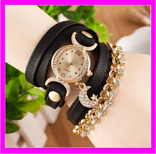 leather wrap bracelet watches images K6814 hot sales leather cord bracelet watch wrap bracelet watch jpg