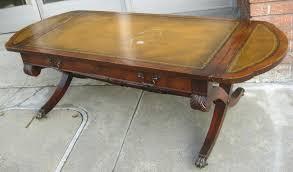 Coffee Table Ottoman Combination Leather Top Coffee Table Mattsheedy