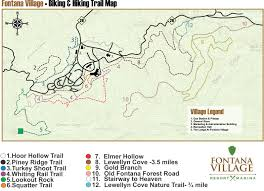 Stone Mountain Map Hiking In The Smokies Hiking U0026 Mountain Biking