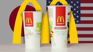 Mcdonalds In America Map by Mcdonald U0027s Cup Sizes Around The World Youtube