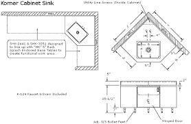 Kitchen Cabinets Standard Sizes Luxurious And Splendid Kitchen Corner Sink Base Cabinet Dimensions