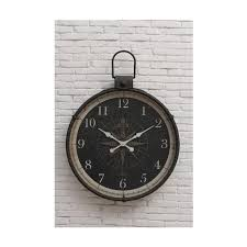 home decorators collection compass round wall clock 1958600210