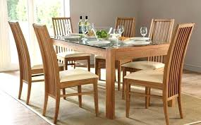round table with 6 chairs glass dining table with 6 chairs price large size of round glass