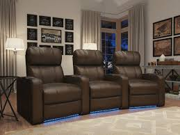 home theater recliner row of 3 home theater pinterest