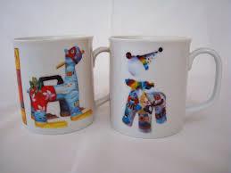 Porcelain Coffee Mugs by 2 Beastie Beat Porcelain Tea Cups Coffee Mugs 10 Oz White What U0027s