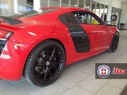 Audi R8 Red - stunning red audi r8 v10 on hre p101 u0027s