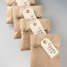 Favor Bag by Scalloped Edge Gift Wrap Favor Bags
