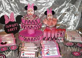 Party City Minnie Mouse Decorations Car Theme Birthday Party Ideas Decorating Of Party All About
