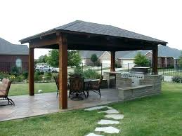 Patio Roofs Designs Patio Roof Ideas Image For Free Standing Awning For Decks