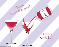 martini glass cheers happy birthday cancer patient survivor funny cancer cards lumpycards