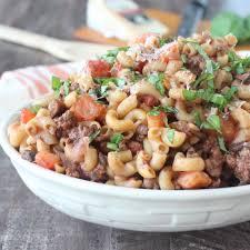 recipes with pasta pot mediterranean lamb mushroom pasta