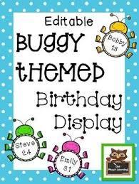 25 classroom birthday displays ideas
