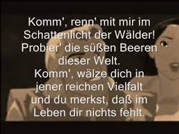 colors of the wind german with lyrics farbenspiel des winds