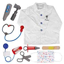 toptie doctor role play set dress up surgeon costumes set for