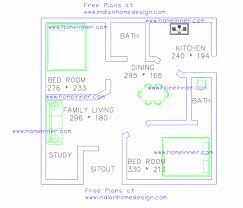 free house designer free low cost 2 bedroom 470 sq ft house plan 2 cent land indian