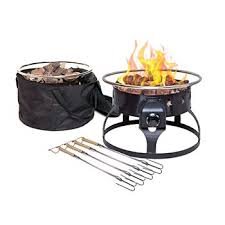 propane fire pit canada redwood portable gas fire pit