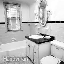 remodeled bathroom ideas how to remodel a small bathroom the family handyman