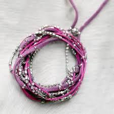 magnetic wrap bracelet images Glistening strands double duty wrap bracelet necklace with easy jpg