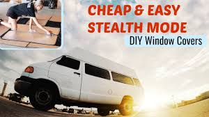 living in a car 4 easy steps diy reflectix window coverings for