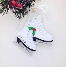 skates personalized ornament figure skater