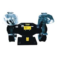 steel grip 6in bench grinder sbg 150m benchtop u0026 stationary