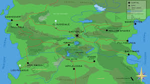 Map Of Avatar Last Airbender World by We Have A Canon Map Of Equestria Show Discussion Mlp Forums