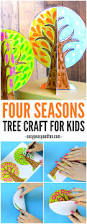 four seasons tree craft with template tree crafts 3d craft and 3d