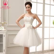 wedding dress pendek 2014 new wedding dress princess tutu bra straps white
