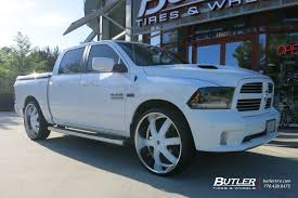 Dodge Ram 96 - dodge ram with 28in 2crave no4 wheels exclusively from butler