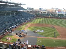 Chicago Cubs Seat Map by Wrigley Field Section 427 Chicago Cubs Rateyourseats Com