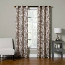 big one 2 pack floral paisley scroll window curtain