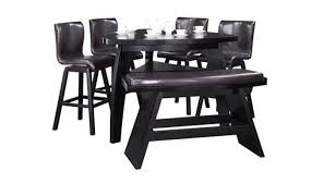 dining tables triangle dining table with bench in elegant