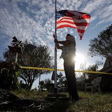 Texas Flag Half Staff Texas Church Shooting Air Force Error Anger At In Laws Preceded