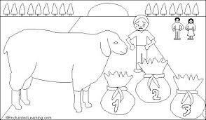 baa baa black sheep printout enchantedlearning