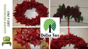 dollar tree diy red poinsettia wreath centerpiece u0026 christmas