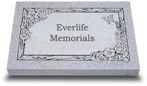 granite grave markers premium granite grave marker for pets by everlife memorials