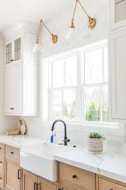 light wood kitchen cabinets with black hardware what makes a modern farmhouse decorology white wood