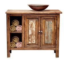 bathroom vanity ideas diy captivating reclaimed wood bathroom vanity with storage cherry
