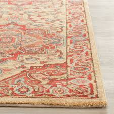 Red Rug Rug Mah698a Mahal Area Rugs By Safavieh