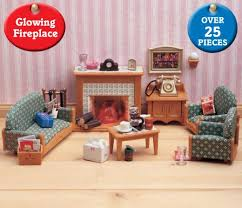 Sylvanian Families Deluxe Living Room Set Toys UKcouk - Sylvanian families living room set