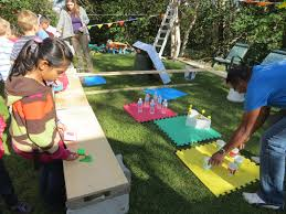 backyard carnival design and ideas of house