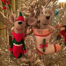 kitschmas craft a new mouse ornament christmas deck the