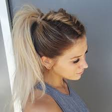 ponytail hair fishtail unicorn braid i don t think i ll be able to do this