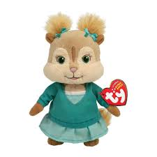 amazon com ty beanie baby eleanor alvin and the chipmunks toys