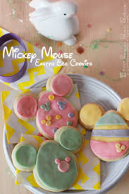 Mickey Mouse Easter Eggs Sugar Bean Bakers Mickey Mouse Easter Egg Cookies