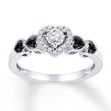 kay jewelers promise rings free diamond rings black diamond promise rings for her black
