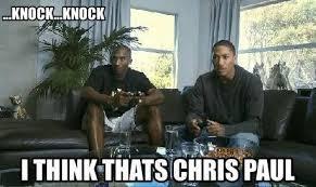 Chris Paul Memes - chris paul is injured http weheartokcthunder com nba funny meme