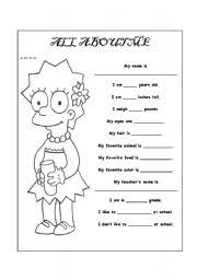 17 best images of all about me puzzle worksheet all about me
