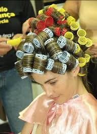 sisyin hairrollers i used to dream about getting ready for the prom when i was a kid