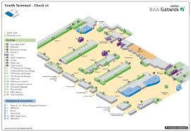 Gatwick Airport Floor Plan by South Terminal Of London Gatwick Airport U2014 Check In Airport
